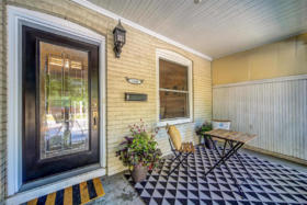 1101 Woodbine Avenue Toronto - front porch