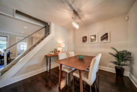 1101 Woodbine Avenue Toronto - dining room