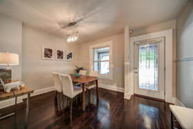 1101 Woodbine Avenue Toronto - entrance and dining room