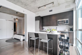 630 Queen St E 610 - kitchen - Toronto real estate agents Ford Thurston and Chris Olsen