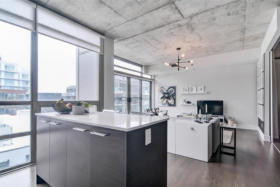 630 Queen St E 610 - kitchen living - Toronto real estate agents Ford Thurston and Chris Olsen