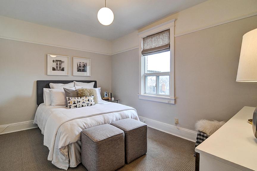 7 Juniper Avenue The Beach Toronto - 3rd Bedroom. Thurston Olsen Real Estate Team
