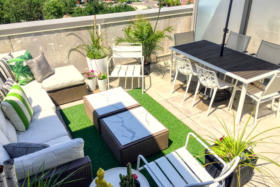 630 Queen St E 610 - private rooftop terrace - Toronto real estate agents Ford Thurston and Chris Olsen