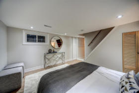 1101 Woodbine Avenue Toronto - lower level room
