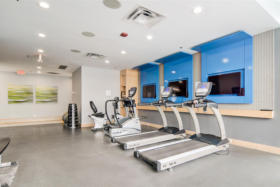 630 Queen St E 610 - amenities gym - Toronto real estate agents Ford Thurston and Chris Olsen