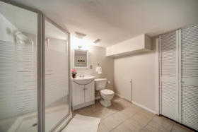 1101 Woodbine Avenue Toronto - lower level washroom
