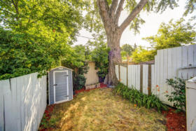 1101 Woodbine Avenue Toronto - backyard