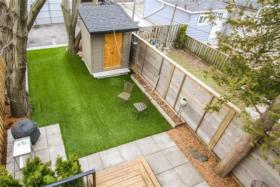 77 Hastings Avenue backyard aerial view