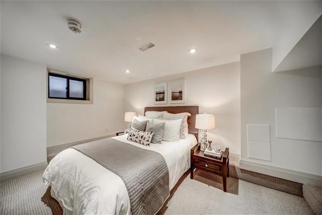 77 hastings avenue basement bedroom leslieville