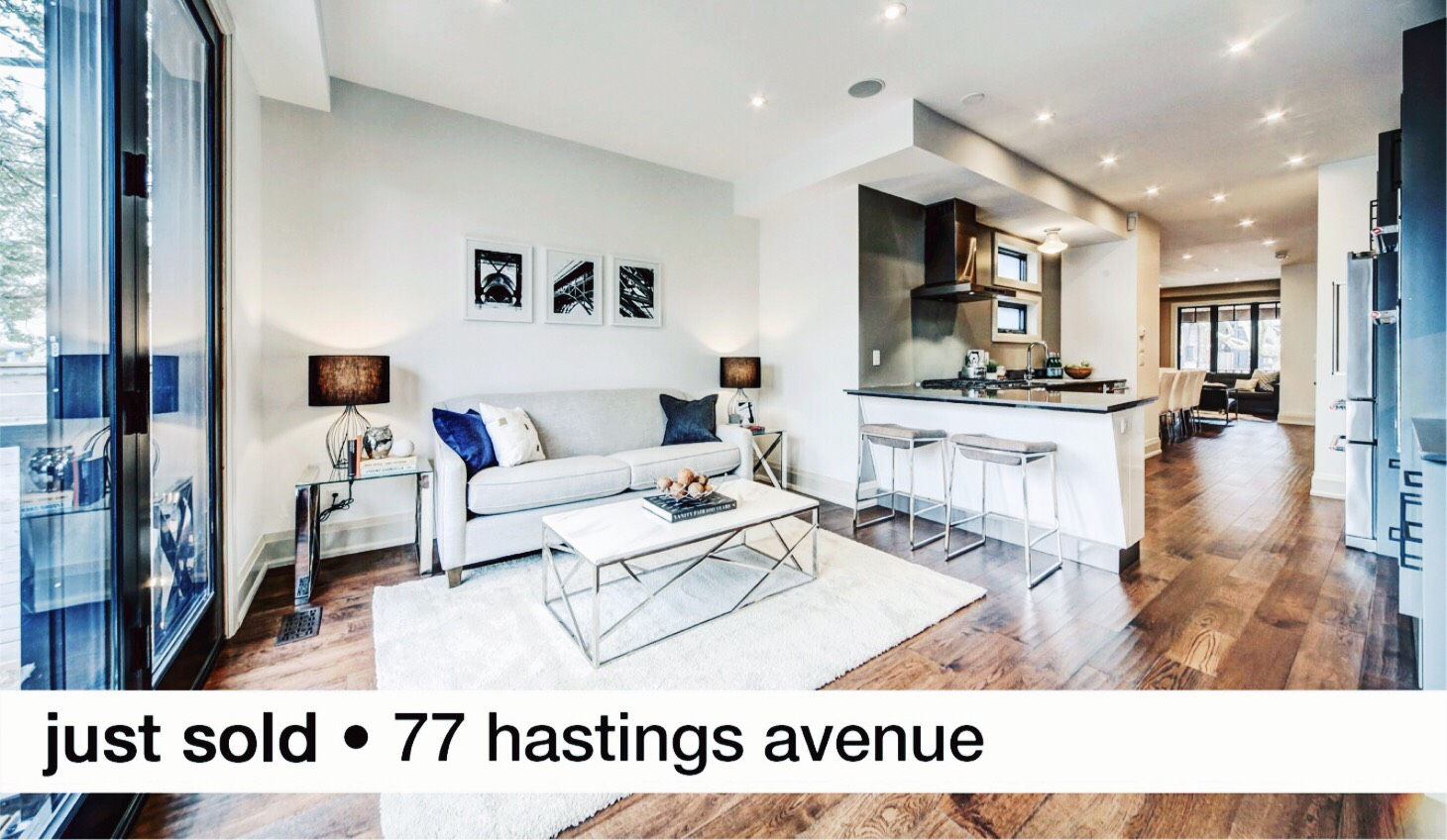 77 Hastings Avenue Leslieville Sold