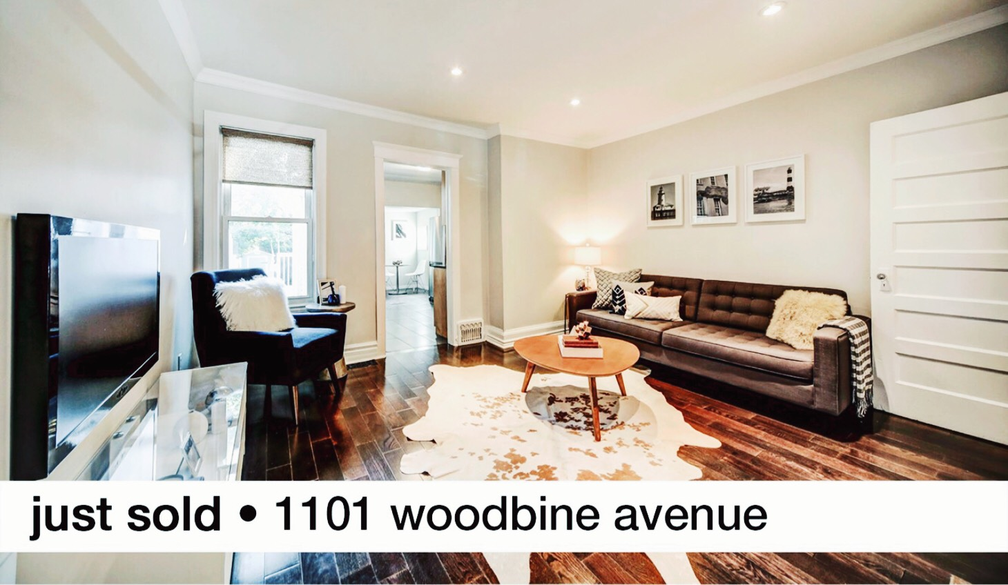 1101 Woodbine Avenue Toronto Sold by Thurston Olsen Real Estate Team