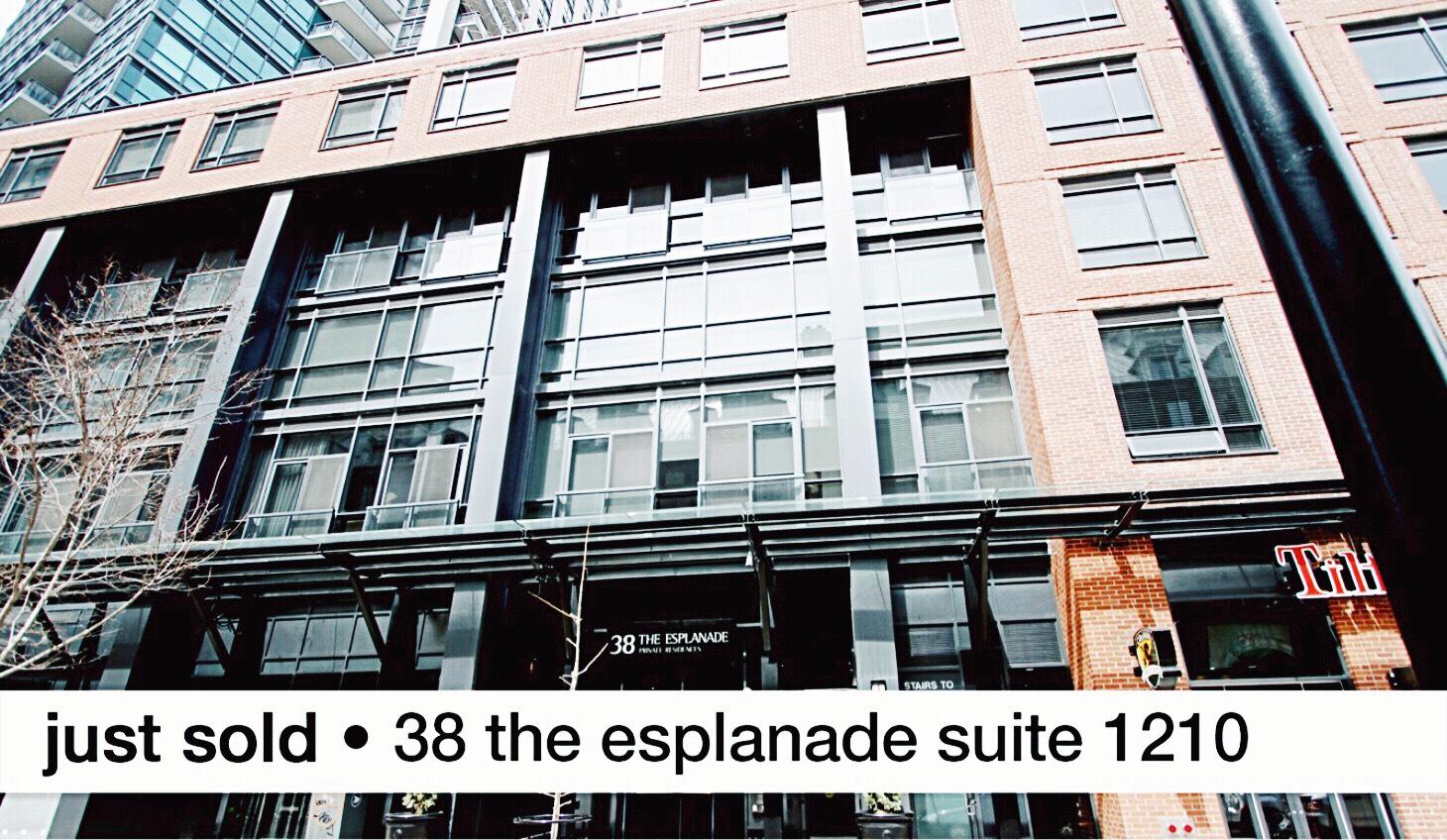 Just sold 38 The Esplanade Suite 1210