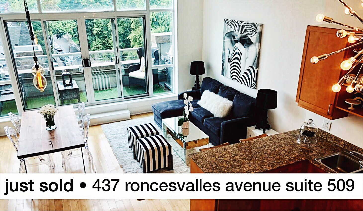 Just sold 437 Roncesvalles Avenue Suite 509