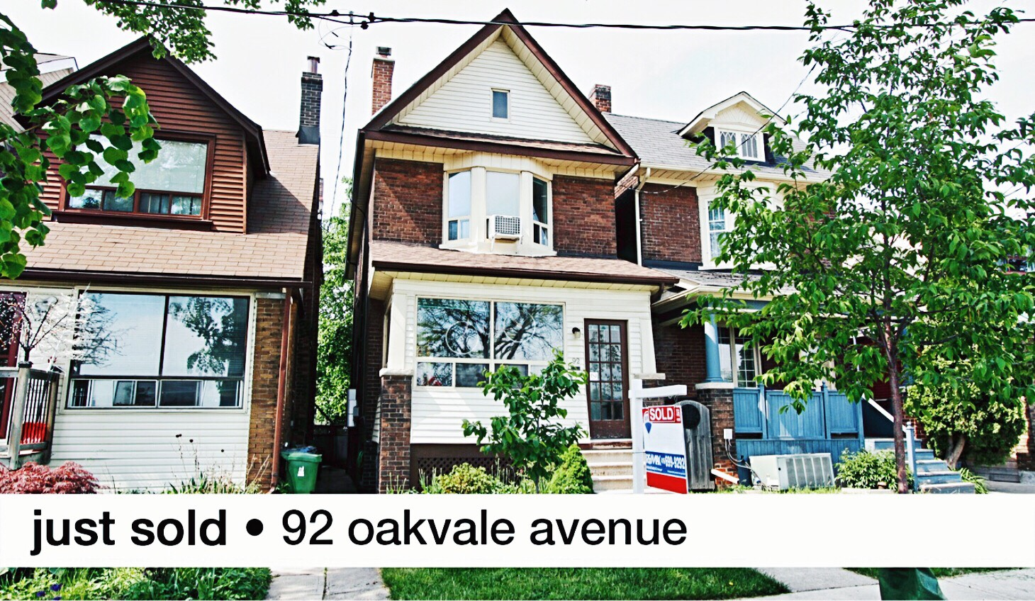 Just sold 92 Oakvale Avenue