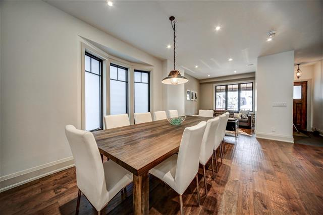 77 hastings avenue dining room leslieville