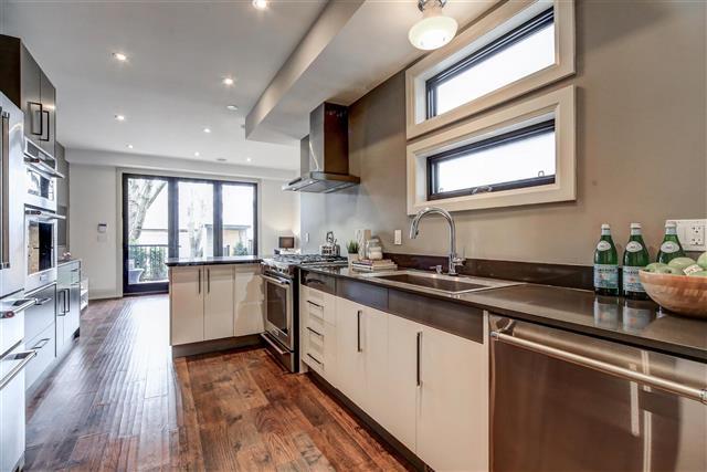77 hastings avenue kitchen leslieville