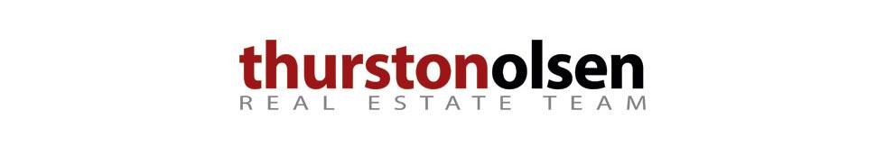 Thurston Olsen Real Estate Team Logo